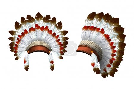 War bonnet Indian.