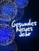 Gesundes Neues Jahr německé šťastný nový rok