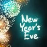 New years eve anniversary firework celebration par...