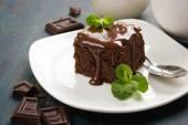 Domácí čokoládové brownies