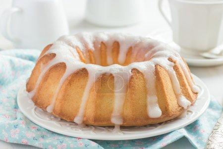 Bundt Cake with Sugar Glaze