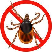 Nebezpečí hmyzu dopravní značka