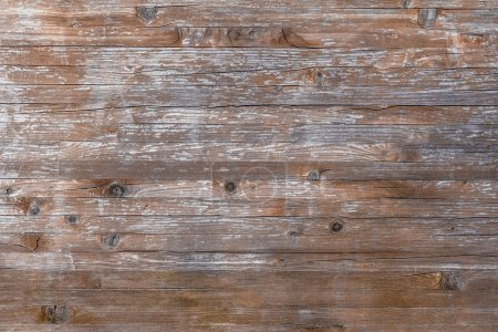 Photo for Planks of rustic wood with light brown tones. - Royalty Free Image