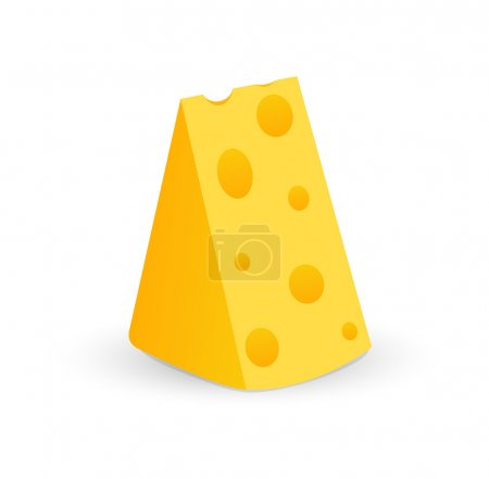 Swiss Cheese piece with holes