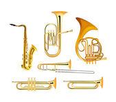 Brass Wind Orchestra Musical Instruments