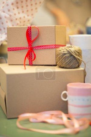 Gift box from cardboard