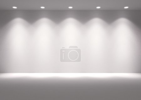 Photo pour Background empty room.  With space for your text and picture. - image libre de droit
