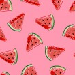 Watermelon seamless pattern. Baby and kids style a...