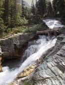 Národní Park Glacier vodopád Panorama
