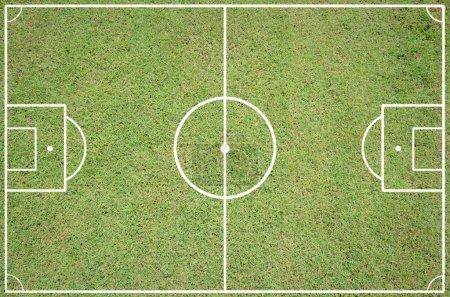 Soccer field layout