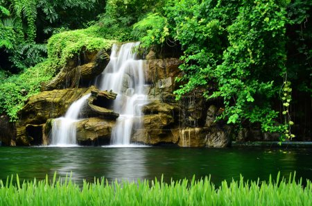 Photo for Artificial waterfall - Royalty Free Image