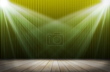 Photo for Stage light as background - Royalty Free Image