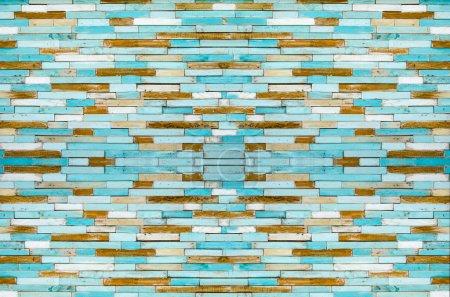 wood pattern decoration wall