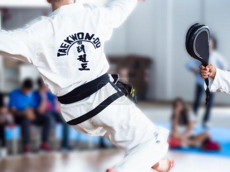 flying kick taekwon -do
