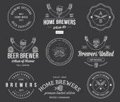 Vector beer badges and labels for any us