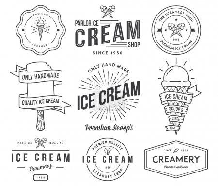Ice Cream 2 black