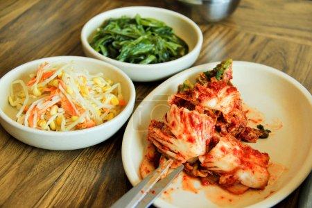Cutting Kimchi