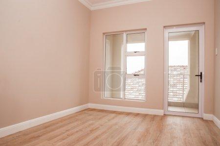 Empty Bedroom and Patio