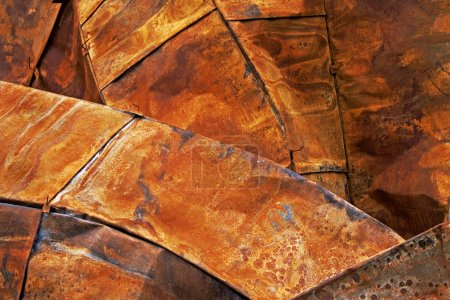 Rusted Steel Roof sheets