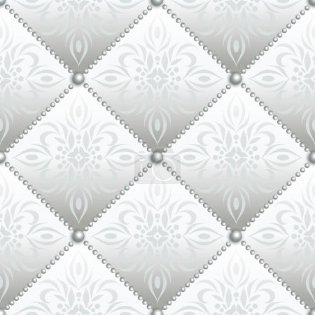 Satin quilted seamless texture
