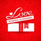 Wedding sale banner