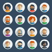 Collection of 25 user icons
