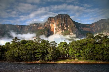 Angel Falls in morning light
