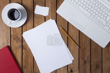 Work on the desk