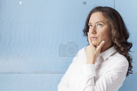 Businesswoman with Plans