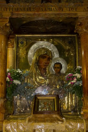 Icon of the Mother of God, Tomb of the Virgin Mary, Jerusalem