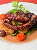 čerstvá Grilovaná chobotnice