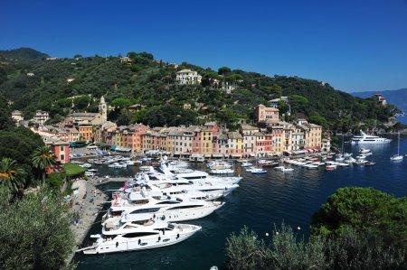 Portofino, famous small town