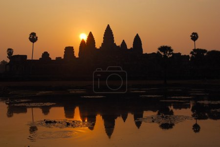 Angkor Wat sunrise at Siem Reap.