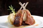 Grillezett bárány steak