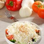 Постер, плакат: Shopska salad also known as Bulgarian