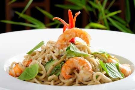 Thai style rice noodles