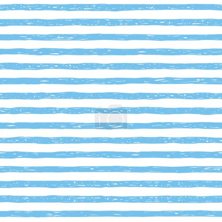 Seamless vector pattern. Light blue stripes texture. Stripe Vest Airborne