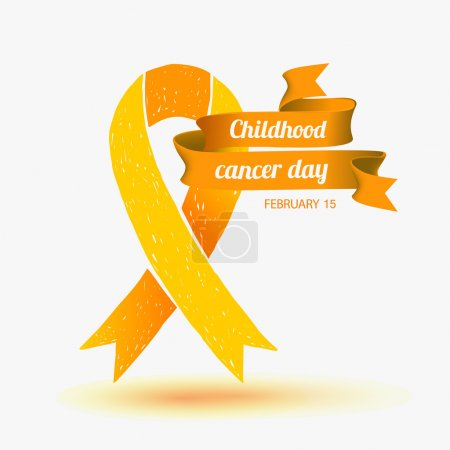 Childhood Cancer Day. February 15