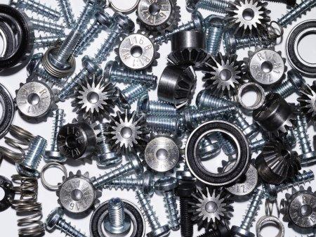 Hintergrund mechanische Komponenten