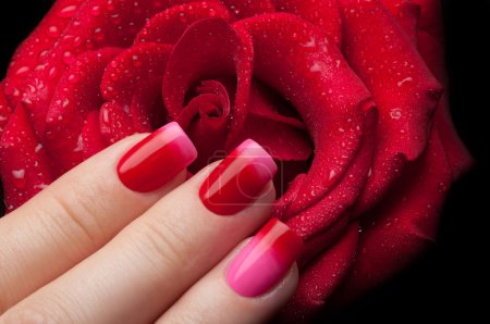 Beautiful nail polish.