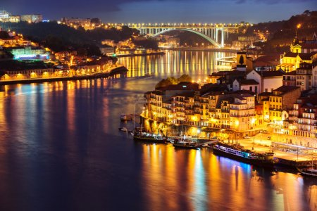 Porto in the night