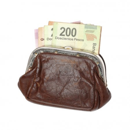 Purse with Pesos