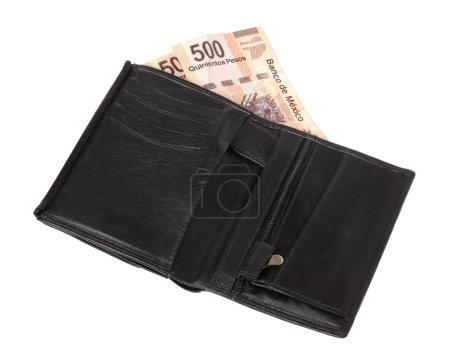 Wallet with 1000 Pesos