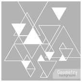 Vector background abstract triangles
