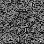 Vector seamless pattern witch sketch texture