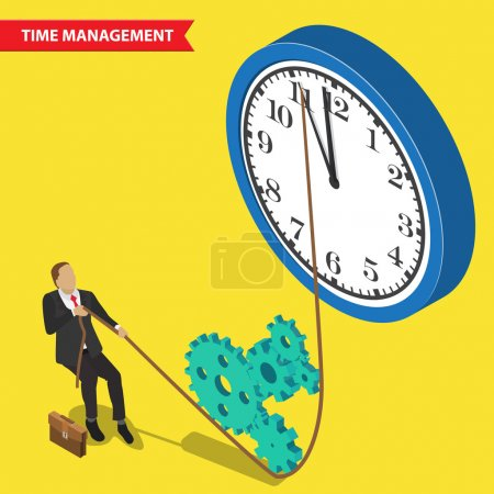 Time management concept