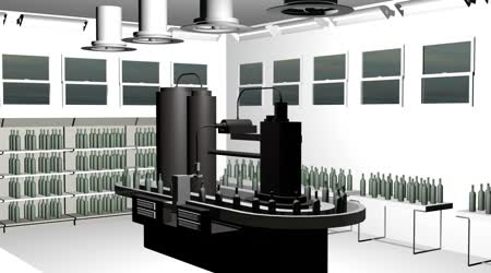 Bottle filling equipment and capping system