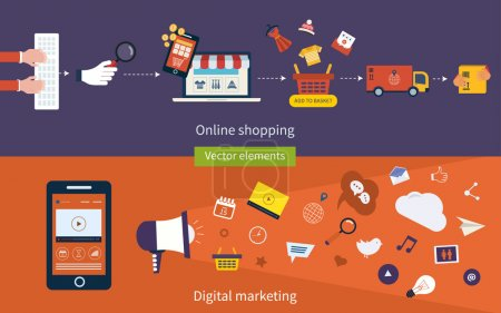 Concepts of online shopping