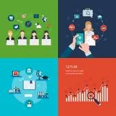 Project management strategic planning concept