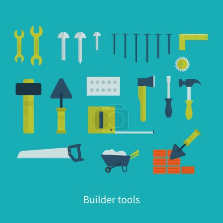 Tools and repair set icons